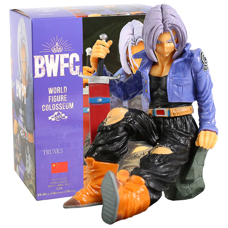 Dragon Ball Z Trunks Banpresto World Figure Colosseum 2 vol.8 BWFC PVC Figure Collectible Model Toy|Action & Toy Figures| - AliExpress