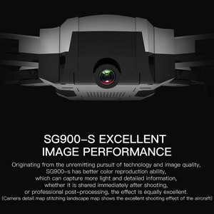 Image 2 - SG900s GPS Drone HD Camera 1080P Foldable Helicopter 300m RC Quadrocopter WIFI FPV gesture photo Professional Selfie VS SG106