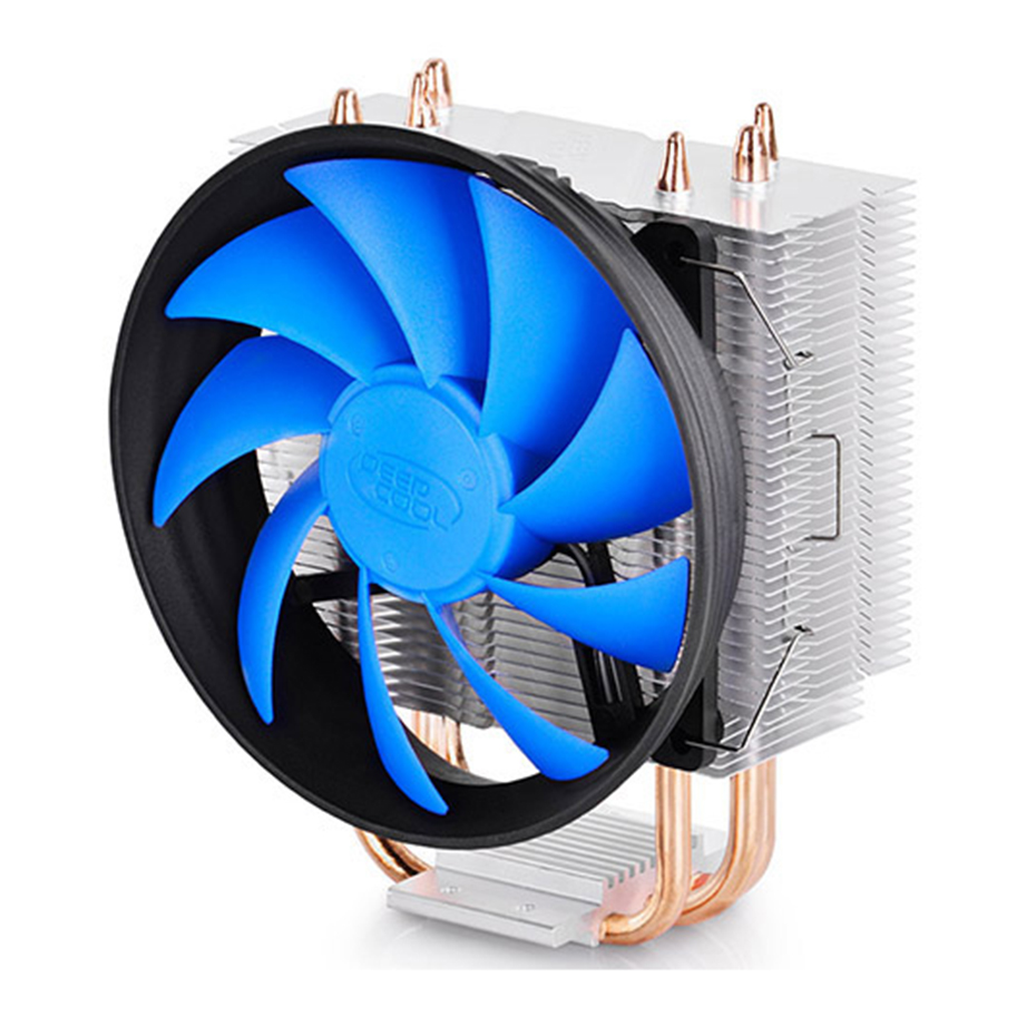 DEEPCOOL GAMMAXX 300 3 Heatpipe CPU Cooler 120mm PWM Fan Quiet 12cm PC Cooling Fan For Intel 775 1155 1156 1150 1151 AMD AM3 AM2