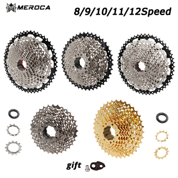 MEROCA New MTB Road Bike 8S 9S 10S 11S 12 Speed Bicycle Freewheel 32 36 40 42 46 50 52T Mountain Road Bike Cassette Flywheel image