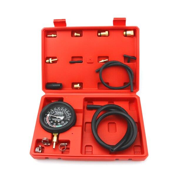 אוטומטי פליטה מערכת אבחון כלי פליטה בחזרה לחץ בודק סט מכונית צינור פליטת מד לחץ גז הפליטה Tester