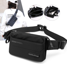 Women Nylon Waist Bag Waterproof Men Chest Fashion