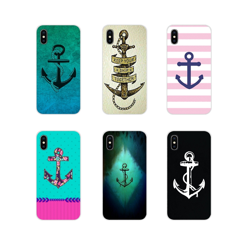 For Huawei Honor 4C 5C 6X 7 7A 7C 8 9 10 8C 8S 8X 9X 10I 20 Lite Pro Ship Anchor Accessories Phone Shell Covers