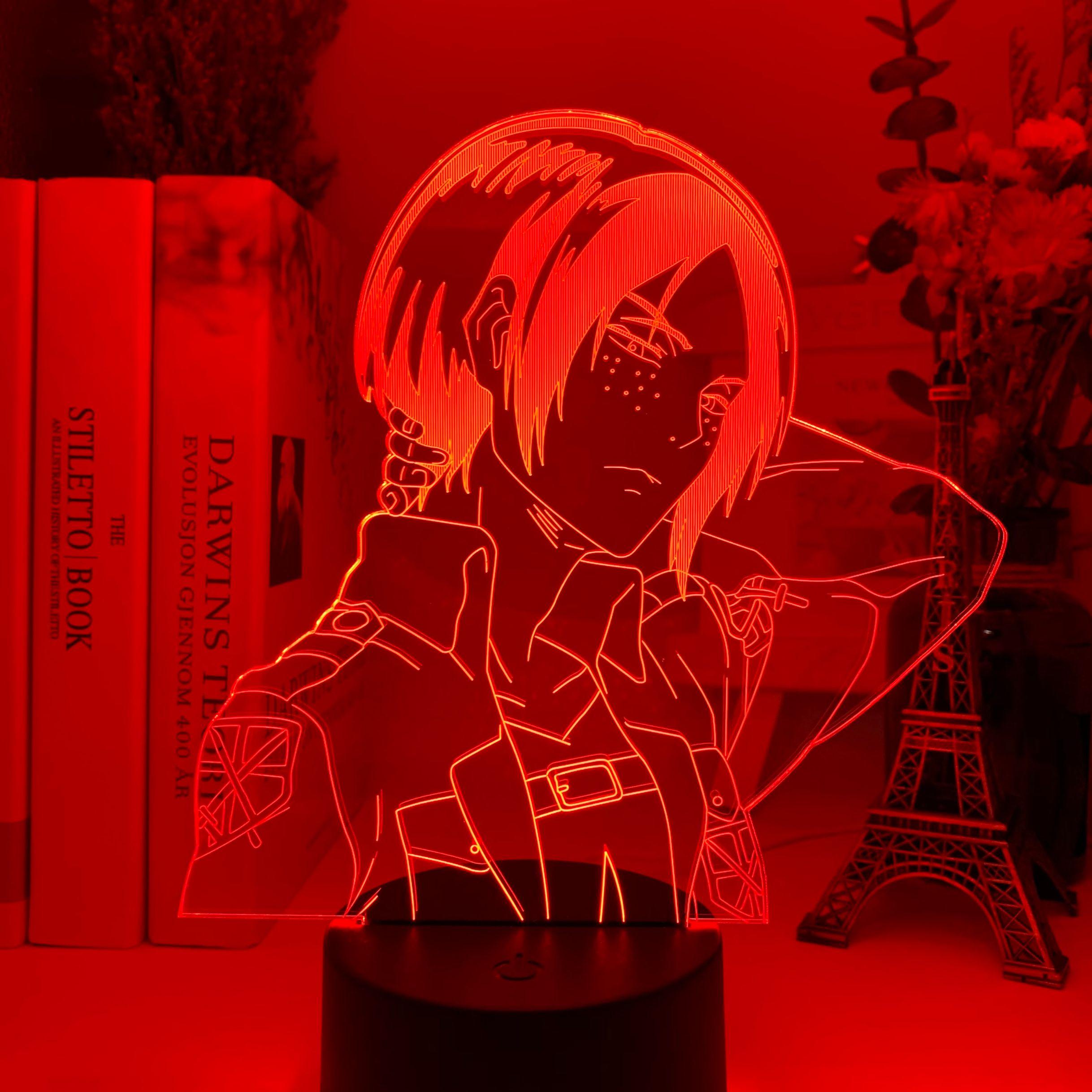 H091ec95192a0447db90eb9183ac9cb05l Luminária Attack On Titan Shingeki no Kyojin Acrílico 3d lâmpada ymir ataque em titã para casa decoração do quarto luz presente da criança ymir conduziu a luz da noite anime