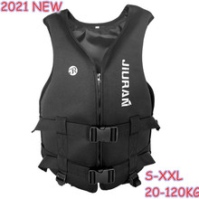 Outdoor rafting Neoprene Life Jacket for children and adult swimming snorkeling wear fishing Kayaking Boatin suit Suit 20-120kg
