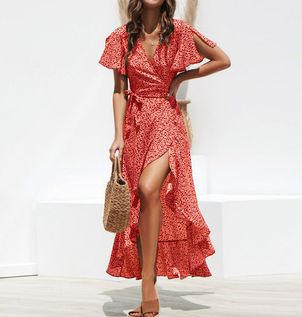 Summer Beach Maxi Dress 3