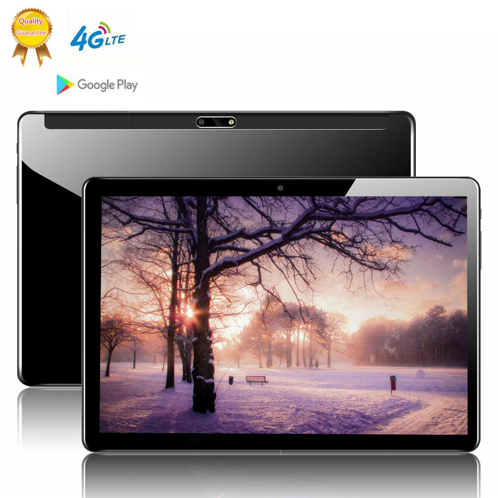 CARBAYTA Tablet PC Android MTK6797 Wifi 10inch 10-Core 4G LTE Deca 3G 128GB IPS 8GB-RAM title=