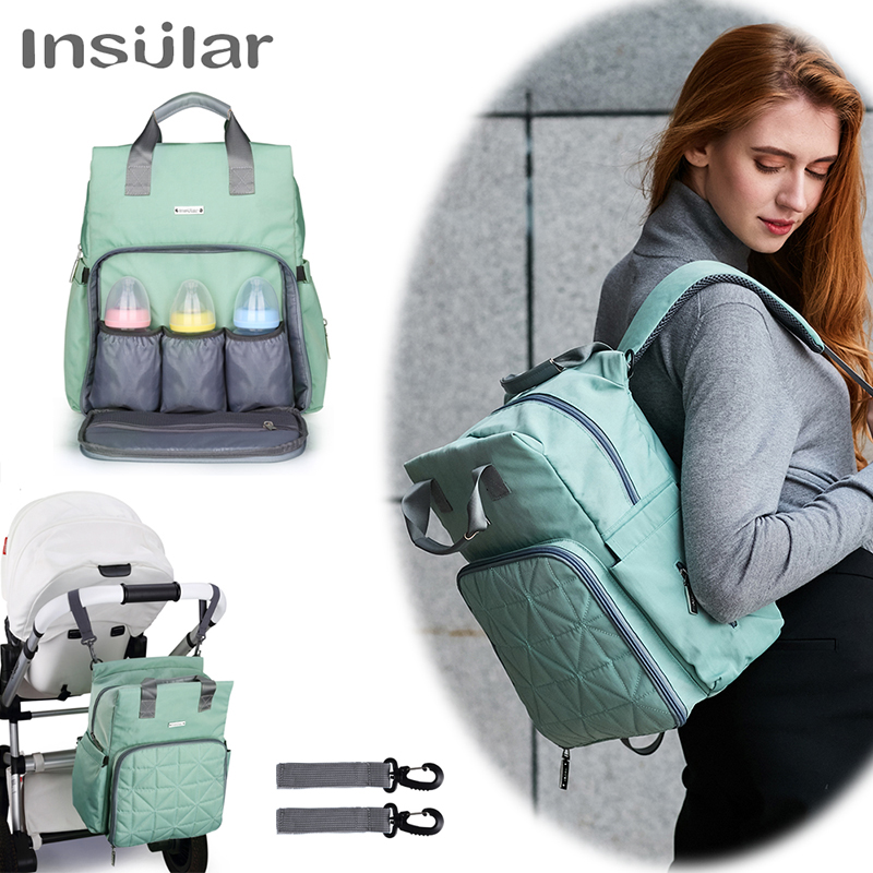 Mommy Bags  Baby Diaper Bag Women Travel Backpack Nursing Stroller Baby Care Mummy Maternity Nappy Bag Baby Stroller Bag