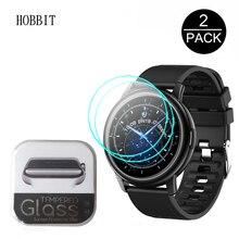 Glass Smart-Watch LEMFO Screen-Guard-Film 9H Clear HD for Waterproof 2PCS LF28