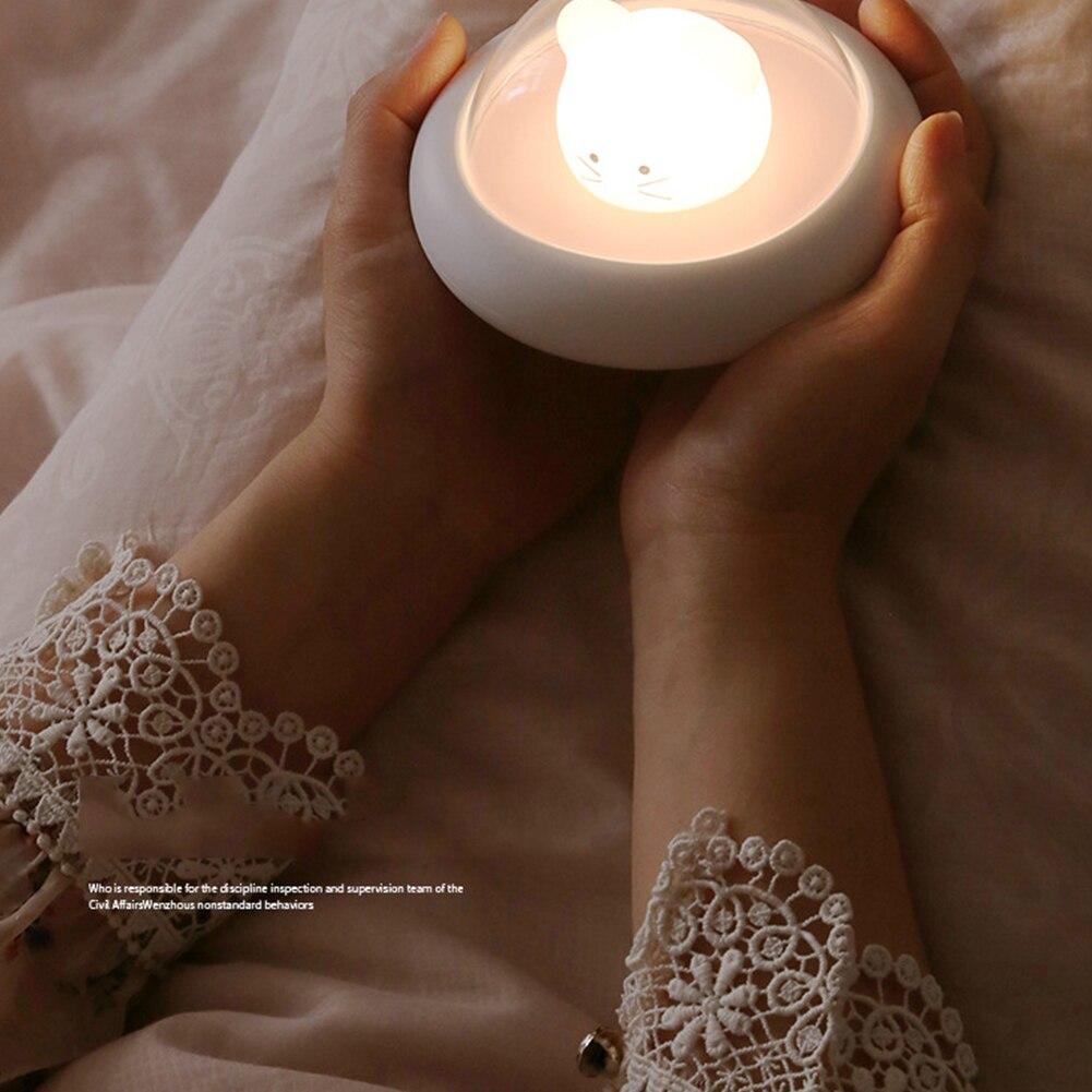 da noite pat o hamster deco lâmpada usb luzes da noite