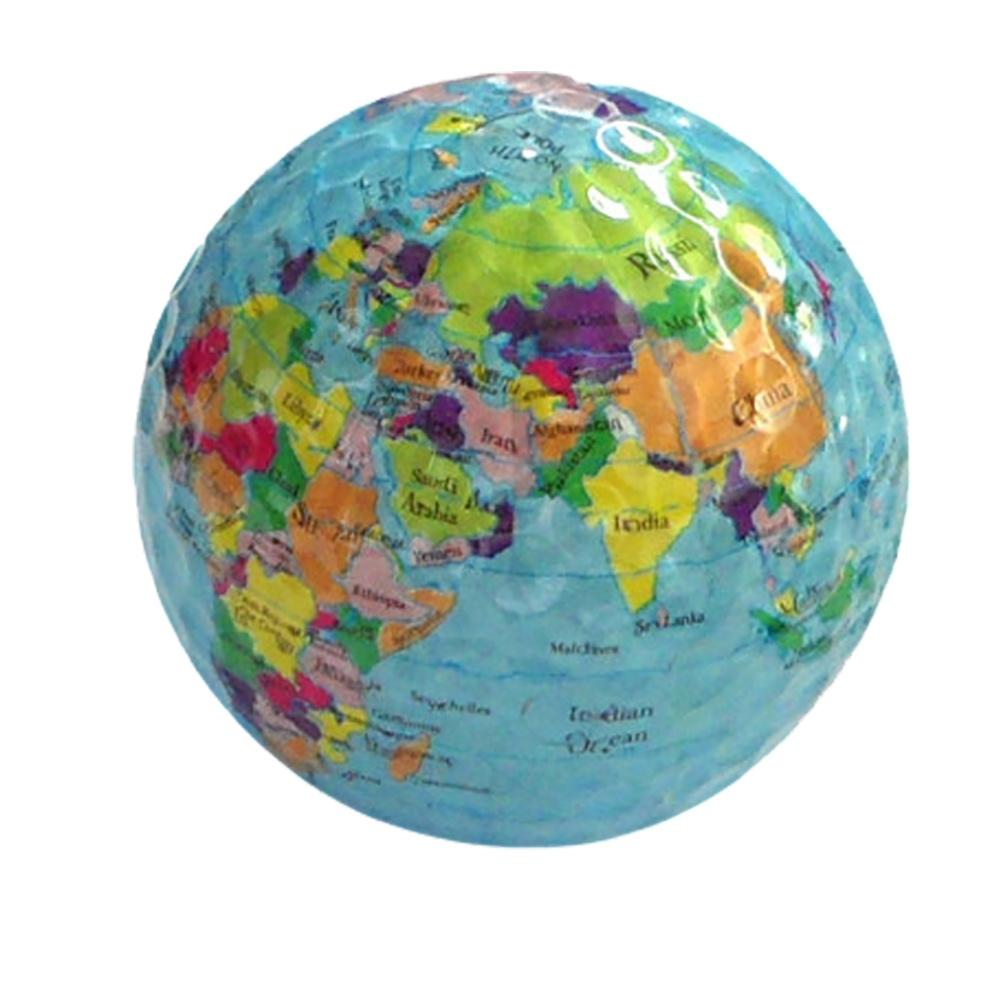 Golf Gift Ball Global Map Colorful Ball Nail Green Fork Scoring Device Accessories High-end Business Gifts