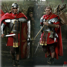Full set doll 1/6 HaoYu TOYS HH18001 Rome Imperial Army Reloaded infantry Figure Collectible for fans toys figure