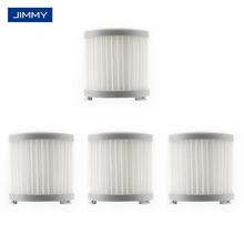 4 × spare HEPA filter for Jimmy jv51 jv83 handheld rechargeable vacuum cleaner HEPA filter Grey