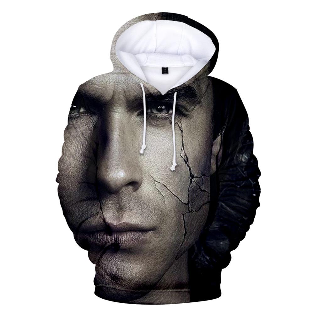 MenWomen The Vampire Diarie 3D Print Sweatshirt Hoodies Jogging pants Sport Suit