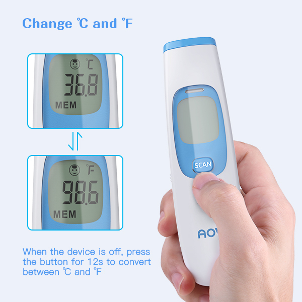 Digital Infrared Thermometer Non-Contact Infrared Thermometer