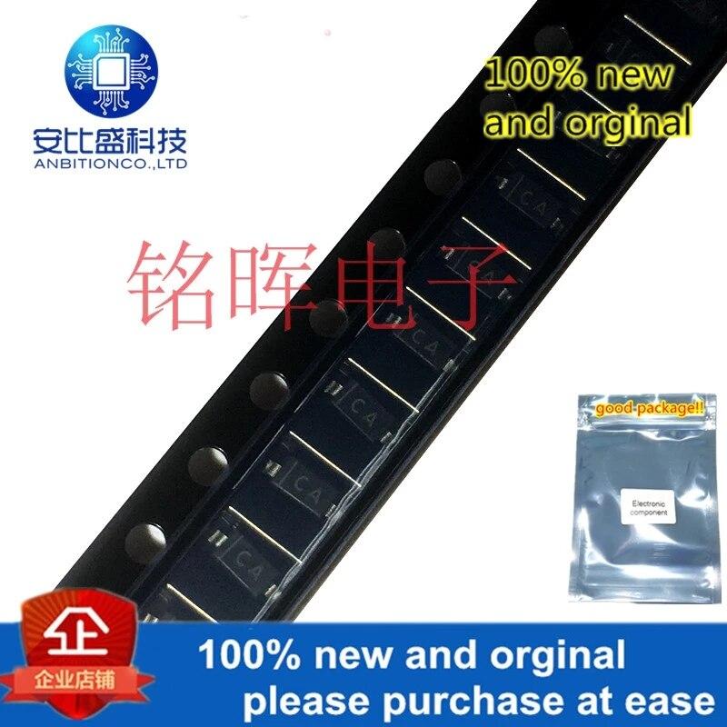 20pcs 100% New And Orginal MMSZ4691 4691 Silk-screen CA SOD123 1206 6.2V SMD Zener Diode In Stock