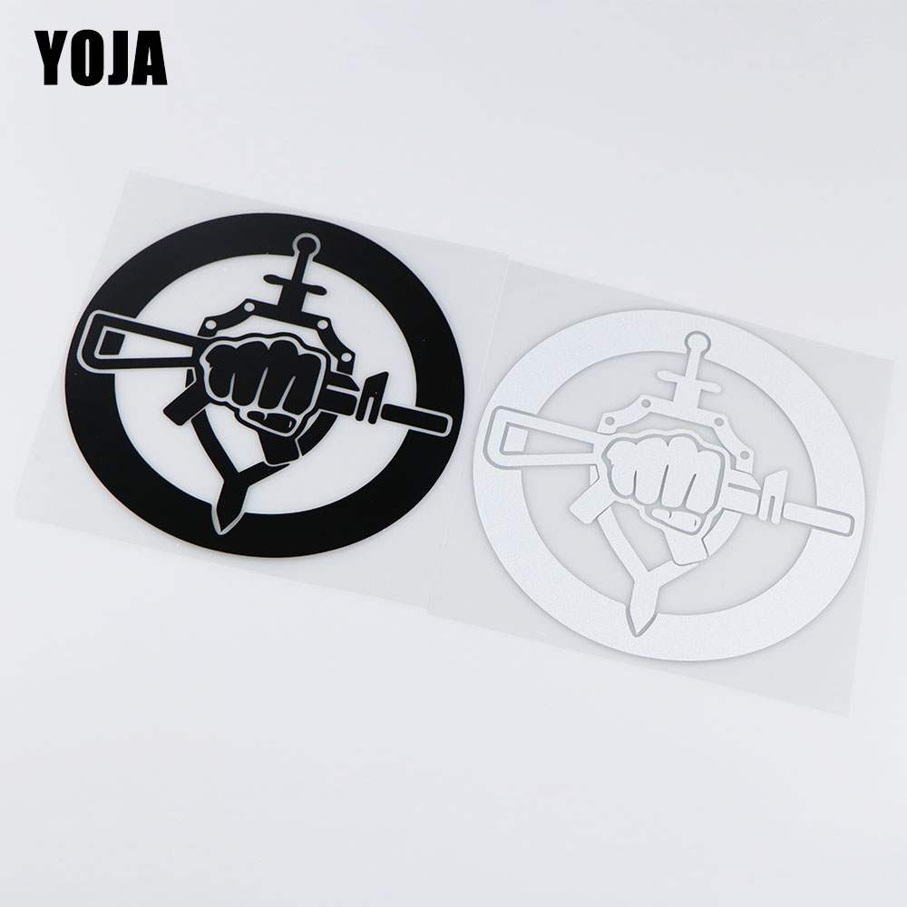 YOJA 15.4X15.5CM Special Forces Personality Window Decoraiton Car Sticker Vinyl Decals ZT4-0145