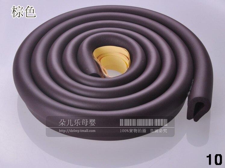 DUDU/&DIDI® /'/'U/' Style 2m New Baby Bumper Strip Safety Corner Protector Glass