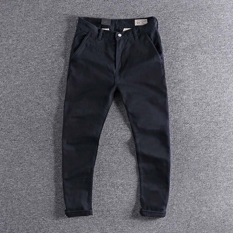 2019 nouveauté créateur de mode britannique mince petit pantalon droit original unique chaussures décontractées pour homme pour la promotion discount