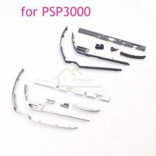 高品質プラスチックボタンフレームオン/オフ電源ボタンストリップ用psp2000 psp 2000ハウジングシェルプラスチックフレーム