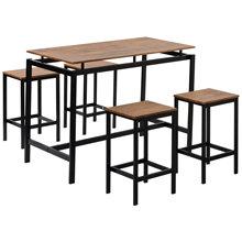 5 шт кухонный набор прилавок высота стола промышленный обеденный