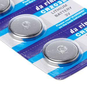 Image 5 - 5 pces 5 pces botão bateria 3v cr2032 br2032 dl2032 ecr2032 pilha moeda de lítio li ion baterias promoção relógio computador led luz