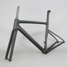 2020 새로운 금형 플랫 마운트 디스크 탄소 도로 프레임 자전거 프레임 세트 t1000 새로운 eps 기술 디스크 도로 자전거 프레임
