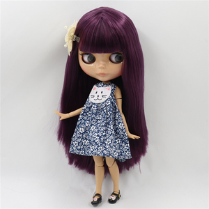 Image 4 - קפוא DBS blyth הבובה 1/6 צעצוע BJD משותף גוף הצעה מיוחדת נמוך מחיר DIY ילדה מתנה, 30cm בובת עירום אקראי עיני צבעים