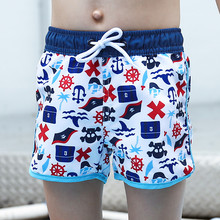 New Model Boy Beach Shorts 2-14 Y Baby Swimwear Children Swimming Wear boy Trunks child Bathing suit little summer short