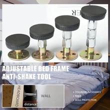 33-110 мм Регулируемая резьба кровать рама анти-встряхивание инструмент фиксированная кровать не вакуумная телескопическая поддержка для стены комнаты Прямая поставка