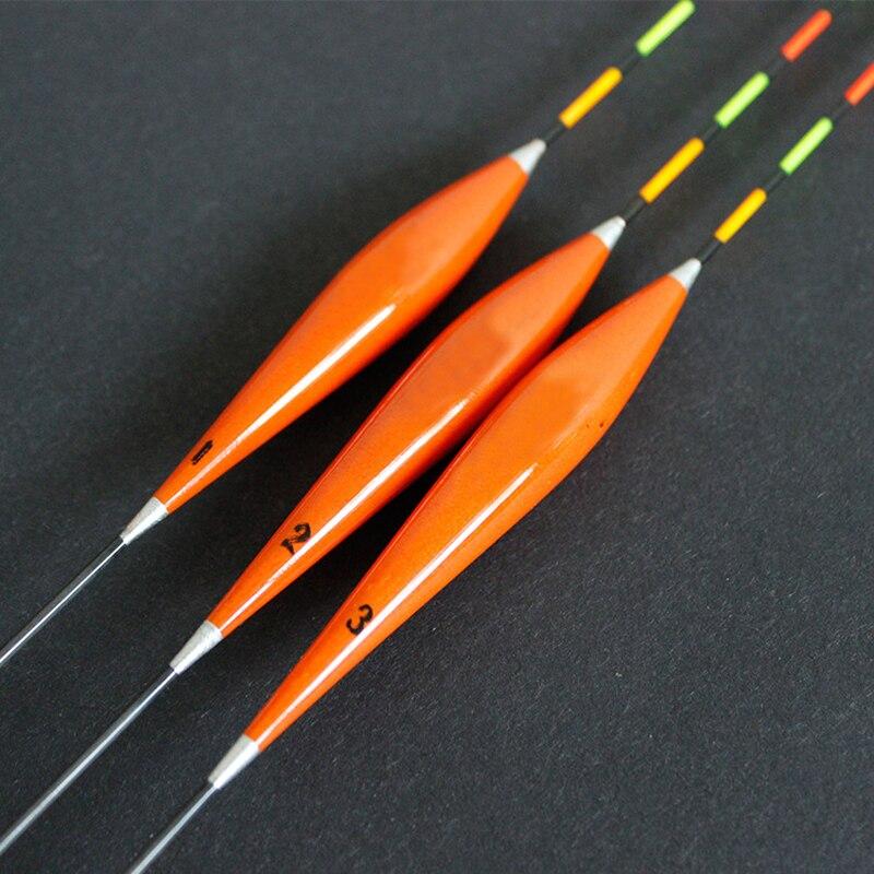 3 pçs/lote Flutuador Bóia de Pesca Bobber Madeira Vários Modelos Disponíveis Ferramentas de Pesca equipamentos de Pesca Bóias de Pesca em Águas Rasas