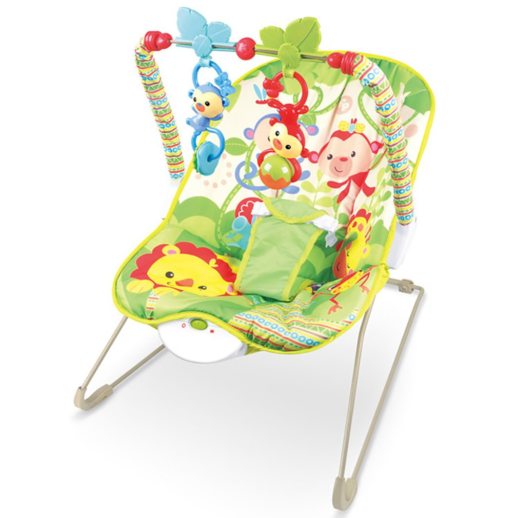 H0922c6ba23854d39952ccbea60560c7fl Baby electric rocking chair Multi-function music vibrating shaker Children's rocking chair recliner toy