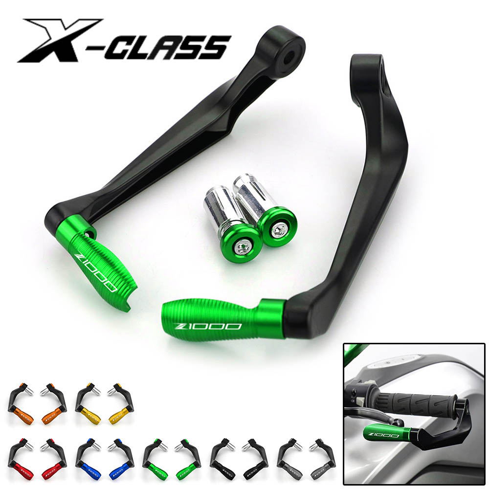 For <font><b>Kawasaki</b></font> Z1000 <font><b>Z1000SX</b></font> 2010-2016 2017 2018 <font><b>2019</b></font> 2020 Motorcycle Lever Guards Crash Falling Protectors CNC Aluminum Accesory image