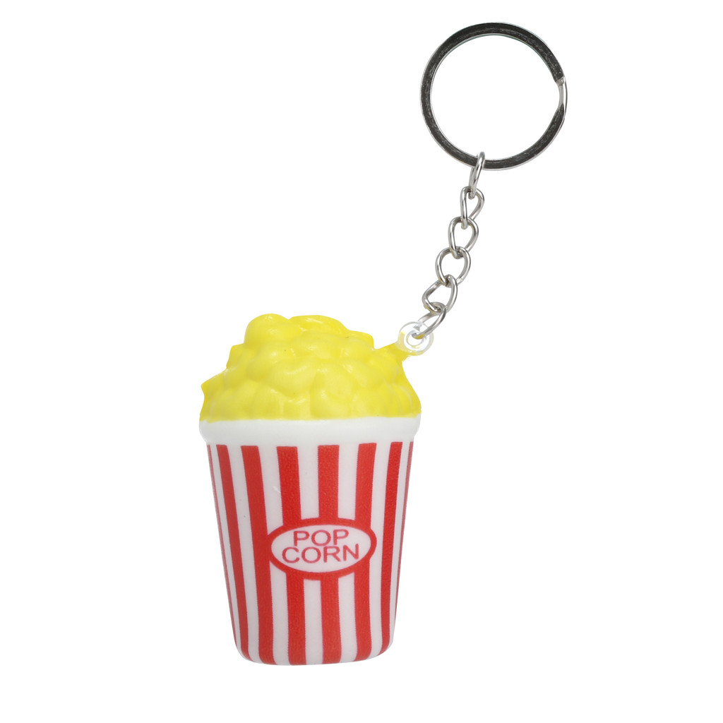 Decorative Fun Slow Rebound Color Popcorn Hand Pinch Simulation Decompression Crafts Toy Cute Collect Toy L1224