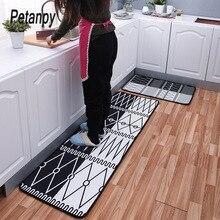 2Pcs/Set Bathroom Doormat Floor Mat Anti-slip Water Absorption Carpet Kitchen Door Toilet Rug