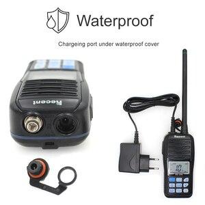 Image 4 - Водонепроницаемый телефон, новая версия, 156,000 161,450 МГц, IP67, водонепроницаемая портативная рация 5 Вт