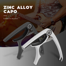 IRIN RC-S7 Zinc Alloy Guitar Capo with Steel Spring Silicone Protective Pad Quick Change Clamp Key Acoustic Classic Guitar Capo