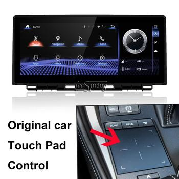 10.25 inch Android 9.0 Upgraded Original Car Screen multimedia Player for LEXUS NX 2017 (Original Car Touch Pad Control)