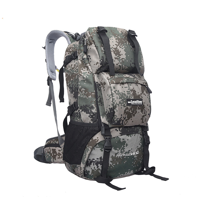 Local Lion Outdoor Backpack Men Mountaineering Bag Gymnastic Valise Women's Large Capacity Travel Holder Backpack