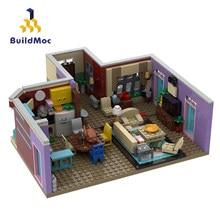 Construção de blocos de construção edifícios amigos para a menina brinquedos para crianças construção de blocos de construção de monica