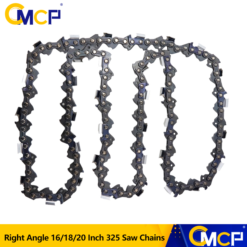 1pc 16/18/20 Inch Right Angle Chainsaw Chain 0.325''LP 058 Saw Chains 325 64/72/76 Drive Links Fit For Electric Saw Chains(China)