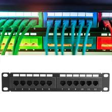 Data-Patch-Panel Trays Cable-Rack Ethernet-Network UTP CAT6A Self-Locking-Cable-Ties