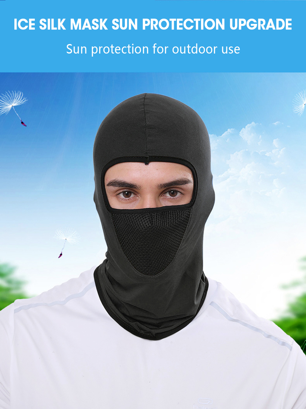 H09246e2b6aa54271a5435bb73a92fcd7I Zacro Outdoor Cycling Hooded Training Mask for Men Women Summer Sport Facemask Windproof Sunscreen Dustproof Bicycle Ski Mask