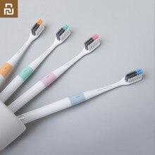 Youpin médico b escova de dentes método de baixo, escova de cama melhor com 4 cores, inclui 1 caixa de viagem para smartphones casa casa