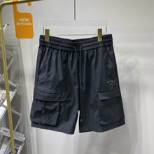 2021 summer new style five-point pants with large pockets decoration casual and comfortable shorts for men and women with high q