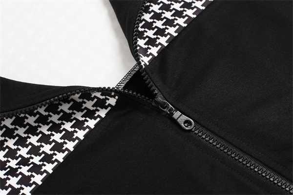 여자 봄 가을 Hoodies 지퍼 스웨터 숙녀 여자 캐주얼 새로운 패션 긴 소매 Outwear 까마귀 feamle 옷