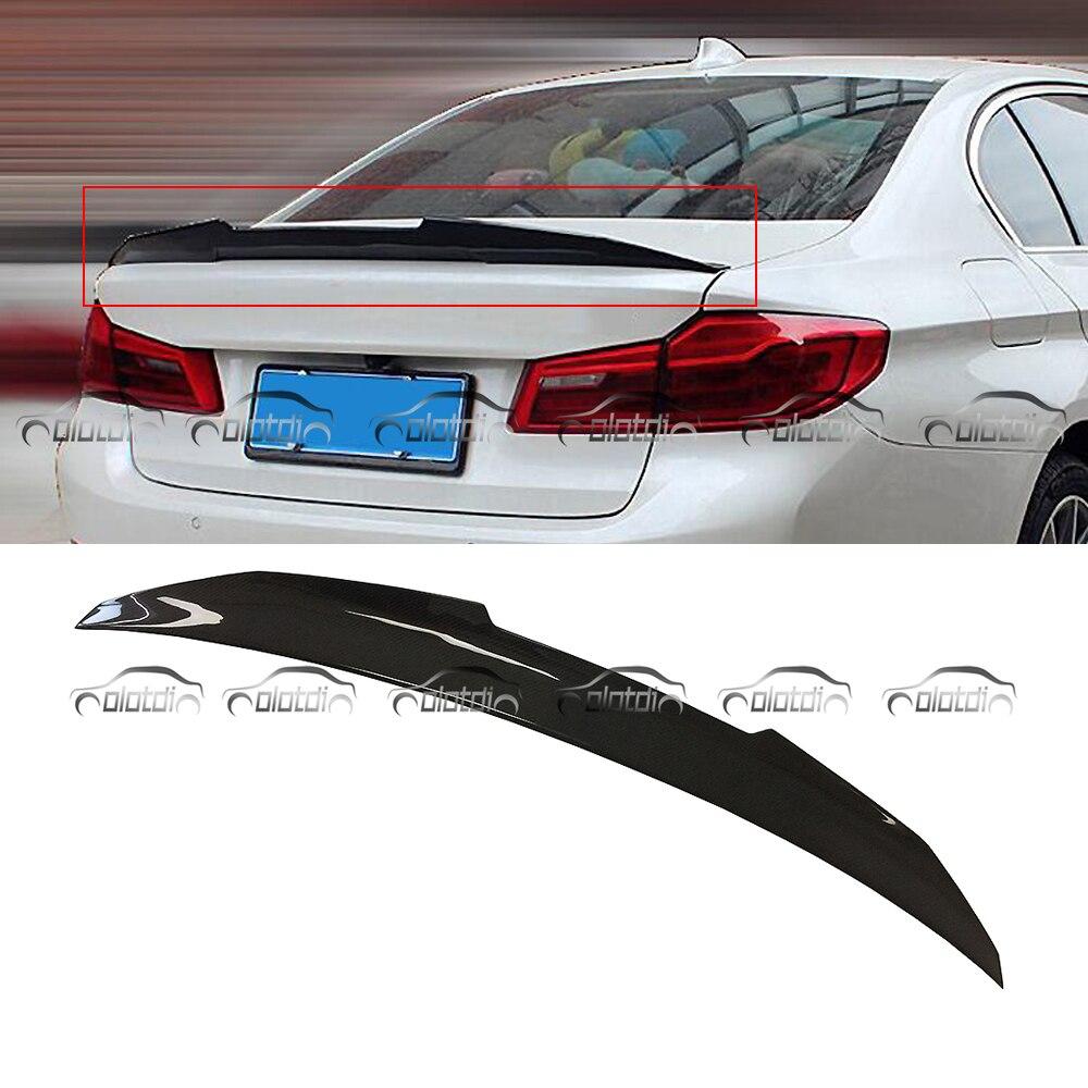 OLOTDI voiture Tuning PSM Style réel fibre de carbone aileron ailes séparateur pour BMW E60