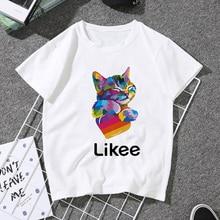 Kadın 2020 yaz komik prenses Vogue Harajuku T Shirt grafikli tişört Femme kore Tops Kawaii Streetwear Camiseta Mujer