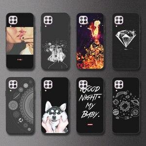 Ojeleye DIY Painted Case For Huawe Nova 7i Case Anti-knock Phone Cover For Huawei P40 Lite Nova 6 SE Honor V30 Pro Bumper Fundas(China)