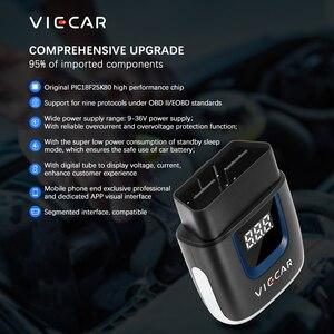 Image 4 - Viecar ELM327 V2.2 PIC18F25K80 OBD2 bluetooth 4.0 wifi elm 327 usbスキャナー自動ツールOBD2 obd 2車診断のためアンドロイド/ios